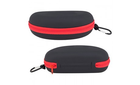 wholesale custom waterproof durable hard eva zippered eyeglass sunglass case
