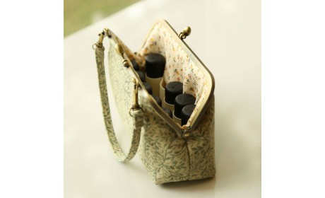 Canvas Essential Oil Bag Carrying Case For 30ml Roller Bottles Doterra