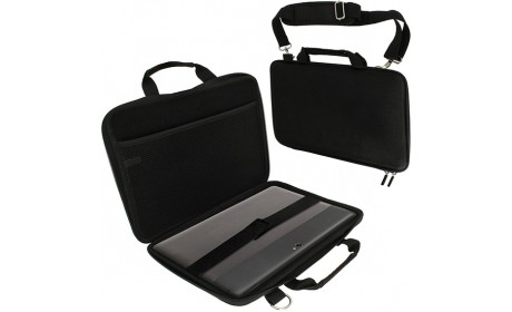 Travel Business Laptop Bag Computer Shell Case With Shoulder Strap