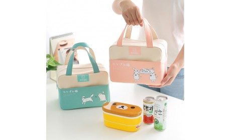Wholesales Aluminum Foil Insulation Lunch Bag Box Handbag