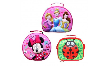 Hard EVA Cartoon 3D Shape Kid Children Picnic Lunch Bags
