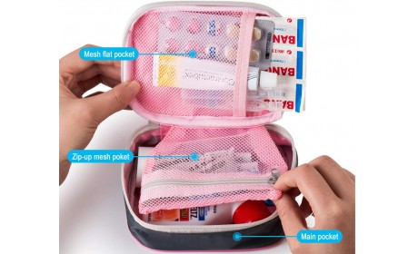 Mini First Aid Kits Multifunction Travel Medicine Storage Bag