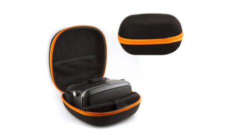 Black Compact Travel Storage VR Life Hard Carrying Case Cover Bag