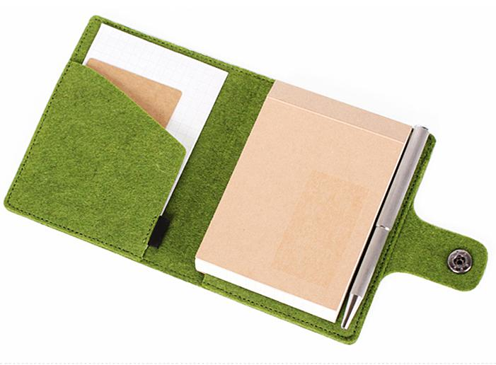 Felt Business Portfolio File Folder sales promotion Lightning Gifts