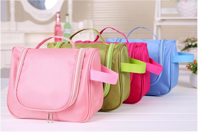 high quality waterproof hanging cosmetic bag multifunction trendy makeup bag