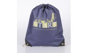 Custom Promotional Travel Bags Non Woven Drawstring Cosmetic Bag