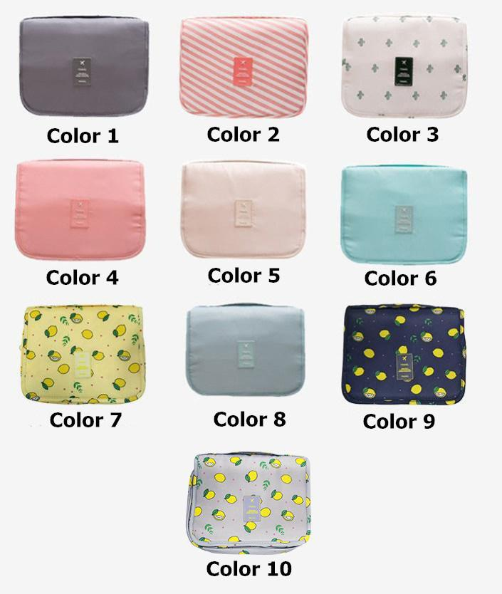 Multi-Functional Wash Collapsible Hanging Travel Storage Cosmetic & Makeup Bag