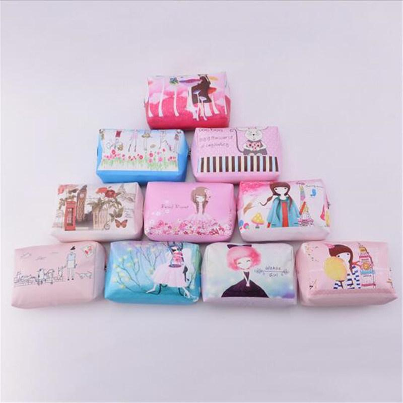 Korean Cartoon Hand Bag Fashion Cute Waterproof Cosmetic Bag