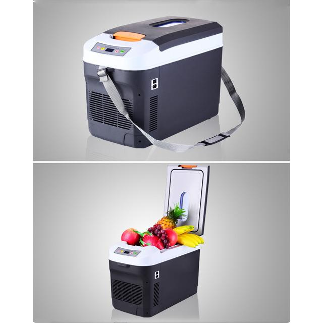 Travel Cooler Warmer Car Mini Cosmetic Bag Portable 12V Truck