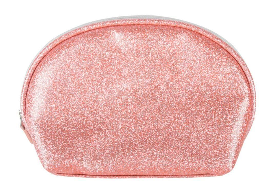 Custom Glitter Clutch Cosmetic Brushes PU Leather Makeup Toilet Bag for Travel