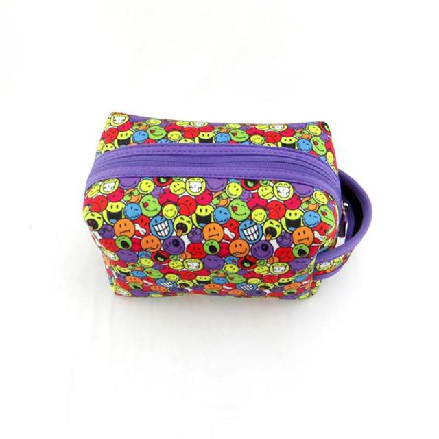 Wholesale Neoprene Travel Personalized Cosmetic Bag Pouch