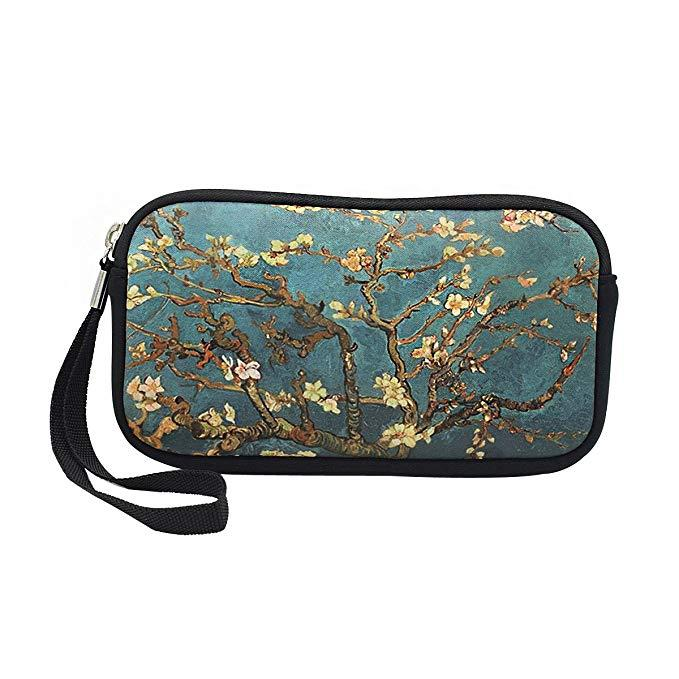 High Quality Neoprene Pouch For Ladies Cosmetic Makeup Bag