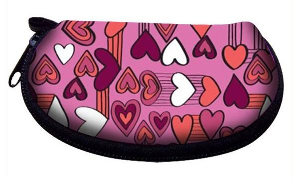 Factory supply neoprene sublimation cosmetic pouch make up bag