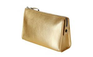 Fashion Champagne Color Cosmetic Bag Wholesale
