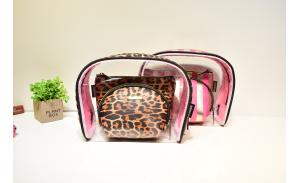 Factory direct sale  fashion selling printed make up bag pvc travel cosmetic bag  woman cosmetic bags