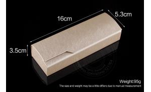 Optical Glasses Box Spectacle Case Hard Safe Eyeglasses Case Myopia Iron Sheet Reading Glasses Square Boxes Magnet Handmade Box