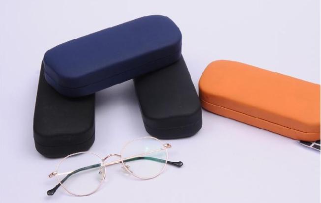 irregular shape wholesale unique eyeglass cases/leopard print glasses case