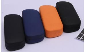 irregular shape wholesale unique eyeglass cases/leopard print glasses case