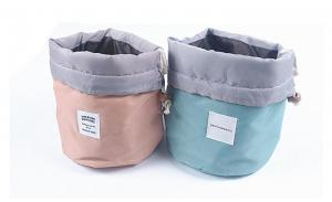 2020 fashion wholesale big capacity professional drawstring cosmetic bag