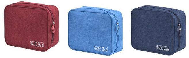 Encai Colorful Travel Cosmetic Bag Waterproof Toiletry Bag