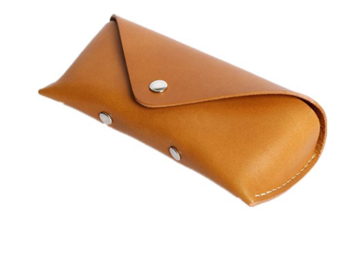 leather eyeglasses case Cheap Wholesale Merchandise Leather Sunglass Case