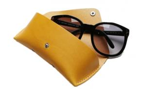 leather eyeglasses case Cheap Wholesale Merchandise Leather Sunglass Case