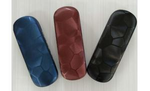 wholesale hard eyeglasses case with embossed  custom printing