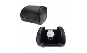 Fashion black pillow PU leather watch box wholesale, Manufacture high-quality watch box, cheap wholesale watch box, a variety of watch box style color design, the best watch box suppliers.