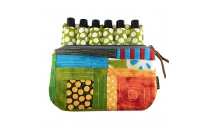 Colorful Pattern Essential Oil Carry Bags And Cases Young Living for 6pcs bottles