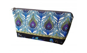 Wholesale Travel storage Peacock Pattern Gorgeous Handmade Essential Oil Bag
