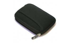 2.5 inch neoprene zipper hard drive small bag waterproof anti-vibration package outer layer thickening