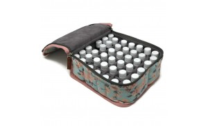 Aromatherapy Travel Storage 42 Bottle Essential Oil Bag Pouch Case for doTERRA, Young Living