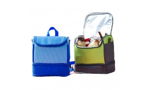 Double Deck Cooler Insulated Lunch Tote Bag Backpack for Adult