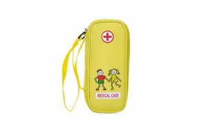Kid's Child EpiPen Medical Essentials Bag Carrying Emergencies Medical Pouch