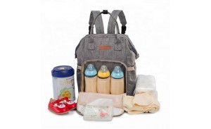 multi-functional outdoor tote mommy baby backpack diaper bag