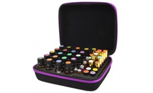 Stylish Hard-Top Carrying Cases holds Various Sizes Essential Oil Bottles.1. The essential oil organizer storage box is the ideal storage solution or travel companion for your essential oil collections.